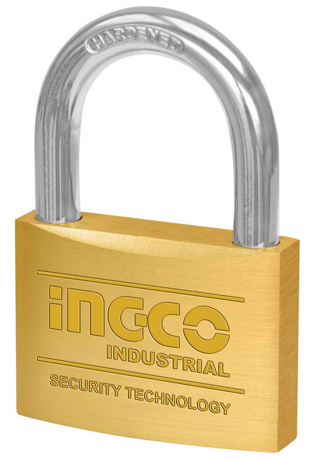 60mm Heavy duty brass padlock