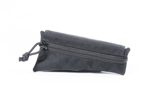Black Canvas Triangle Stock Pouch
