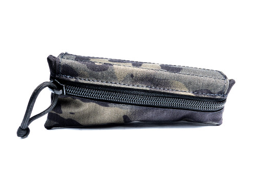Crye Multicam Black Canvas Triangle Stock Pouch