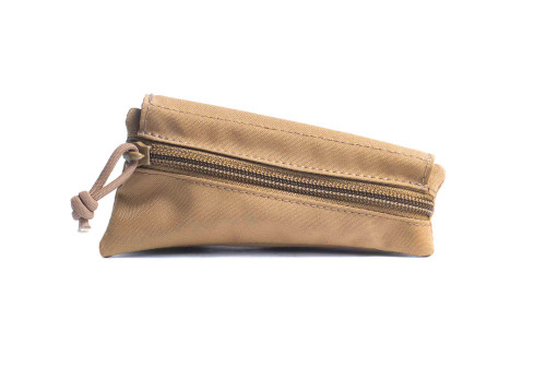 Coyote Tan Canvas Triangle Stock Pouch