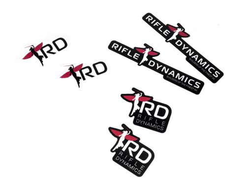 RD Logo Sticker Set - Long Logo