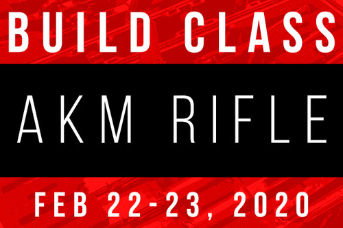 February 22-23, 2020 AK Build Class - Two Payments of
