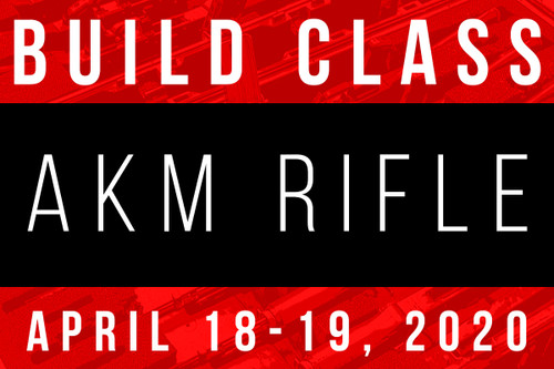 April 18-19, 2020 AK Build Class - Two Payments of