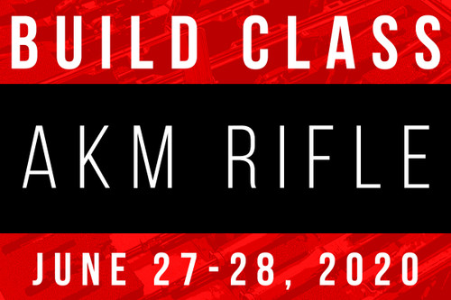 June 27-28, 2020 AK Build Class - Two Payments of