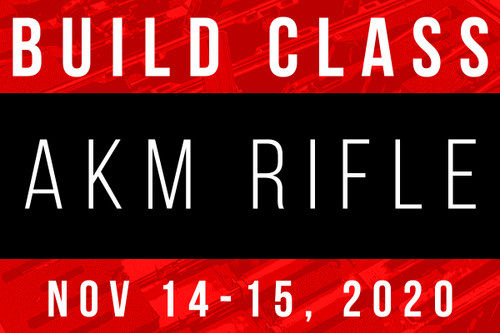 November 14-15, 2020 AK Build Class - Two Payments of