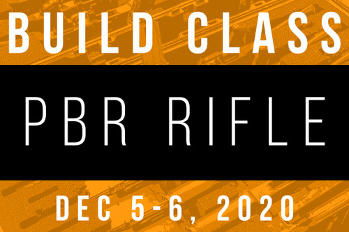 December 5-6, 2020 703PBR Build Class - Two Payments of