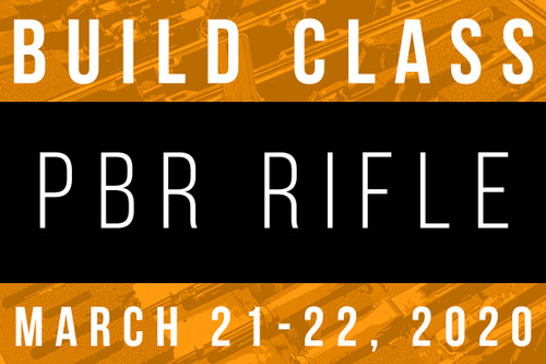 March 21-22, 2020 703 PBR Build Class - Two Payments of