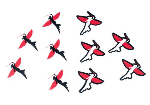 Warrior Angel Stickers