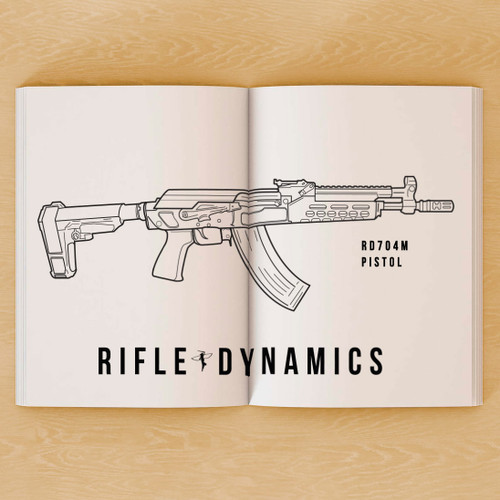 Color with Rifle Dynamics Coloring Book