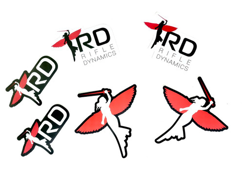 RD Logo Sticker Set - Large Angel