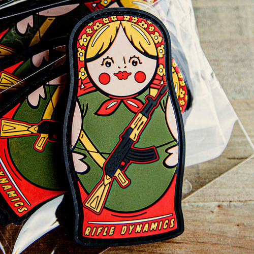 Russian Nesting Doll Patch