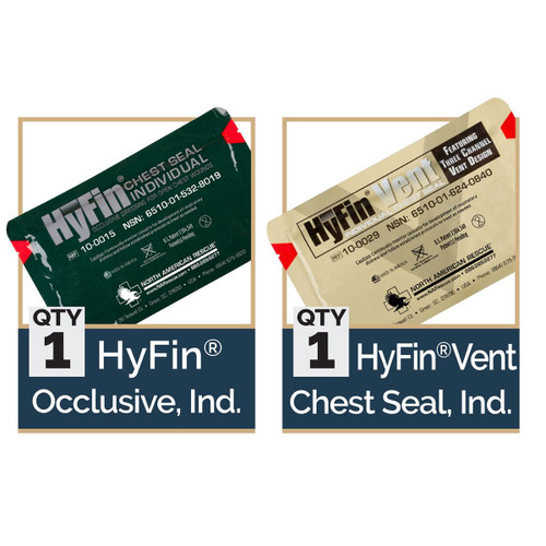 USMC HYFIN CHEST SEAL COMBO PACK