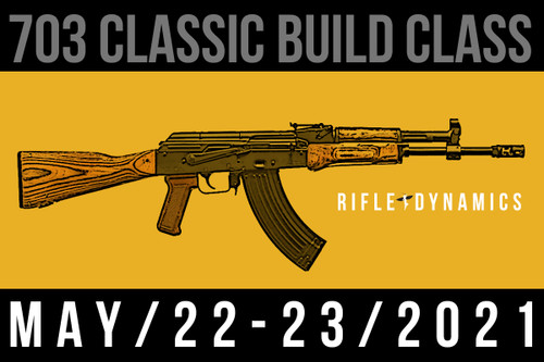 May 22-23, 2021 703 Classic Build Class - Two Payments of