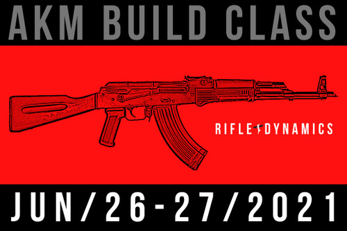 June 26-27, 2021 AKM Build Class - Two Payments of