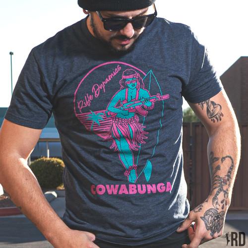 Synthwave Cowabunga T-Shirt