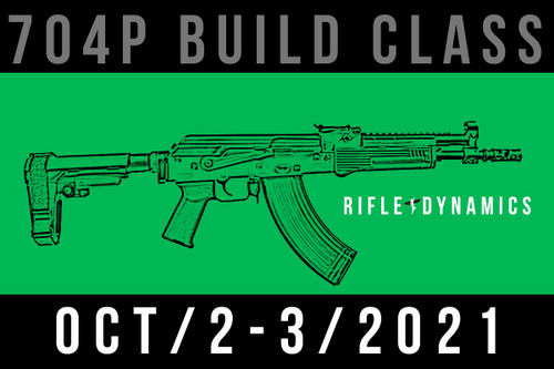 October 2-3, 2021 704 Pistol Build Class - Two Payments of
