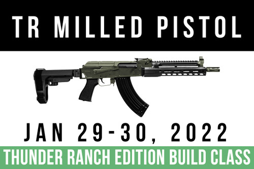 Rifle Dynamics Thunder Ranch Build Class January 29-30, 2022 - Two Payments of