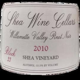 Shea Wine Cellars Block 33 Pinot Noir 2010