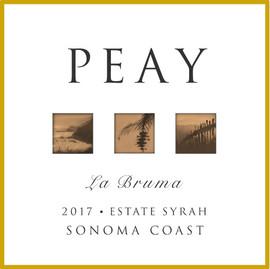 Peay Bruma Syrah 2017