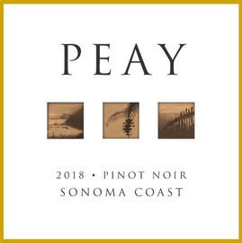 Peay Pinot Noir Sonoma Coast 2018