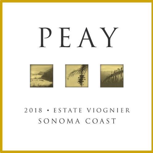 Peay Estate Viognier Sonoma Coast 2018