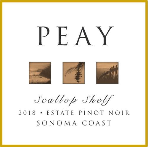 Peay Scallop Shelf Pinot Noir 2018 (375 ml)