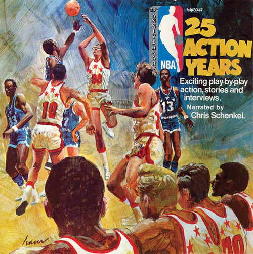 NBA 25th Anniversary: 25 Action Years