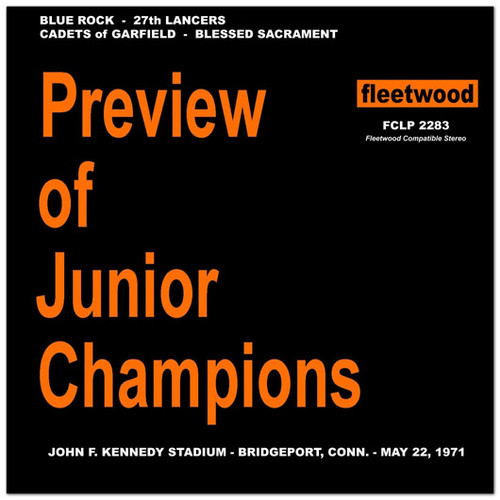 1971 Preview of Junior Champions