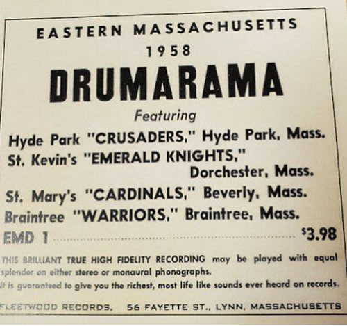 1958 Eastern MASS Drumarama