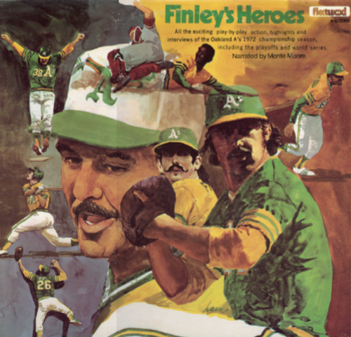 1972 Finley's Heroes - Oakland Athletics