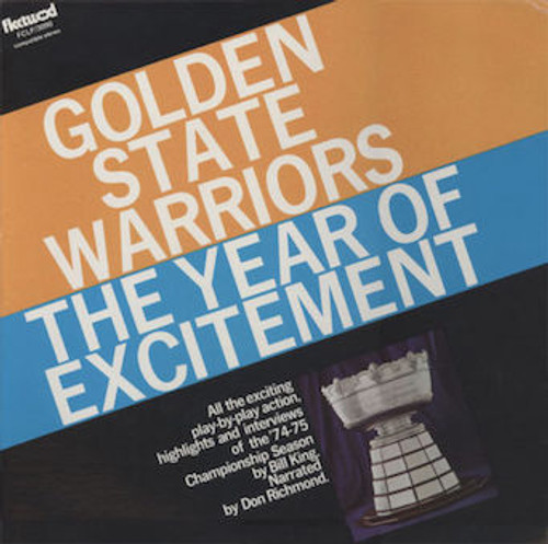Golden State Warriors - The Year of Excitement 74-75 NBA Championship Season