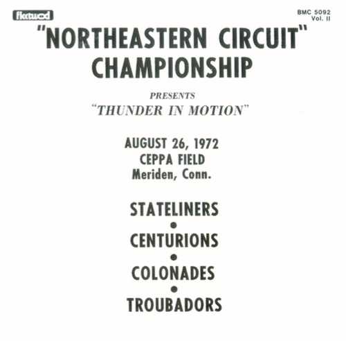 1972 - Northeastern Circuit Championship - Vol. 2