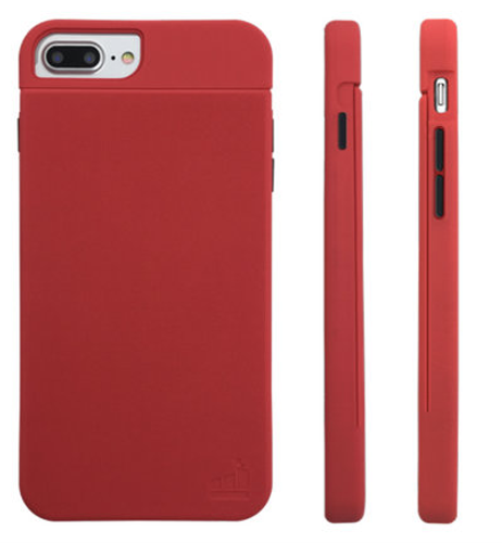 SlimClip Case V4+ • BLAZE (Red) for iPhone 7 PLUS | iPhone 6 PLUS | iPhone 6S PLUS