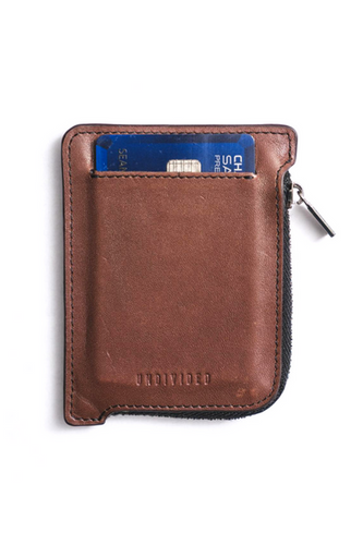 Undivided Wallet  Perfectly and comfortably fits credit and ID cards making it super easy and simple to get them in and out when you need them