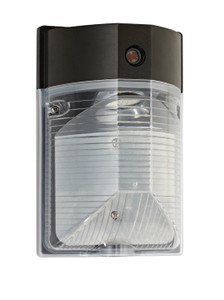 CLARK LED BRONZE MINI WALL PACK W/PHOTO CELL - WM25W27V50KDP1