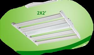 CLARK 2X2 LED LINEAR HIGH BAY LUMILEDS - HBL22D160W27V50KH