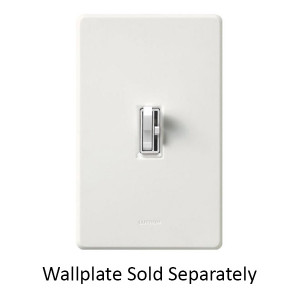 Lutron Ariadni AYCL-253P-WH with wallplate