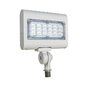 Westgate LED Floodlight with Knuckle - LF3-WH-30CW-KN