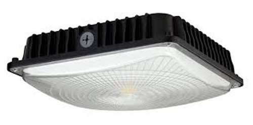CLARK LED SURFACE / PENDANT MOUNTED CANOPY FIXTURE - CP45W27V50KB