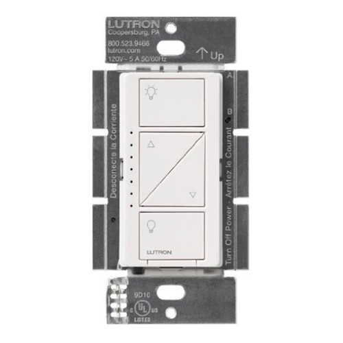 LUTRON CASETA LED DIMMER - PD-6WCL-WH