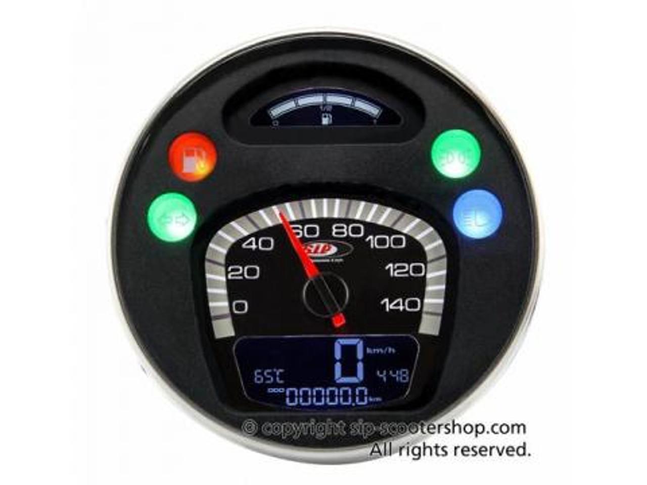 For SIP Digital Speedo Vespa Lambretta Sensor Temperature KOSO