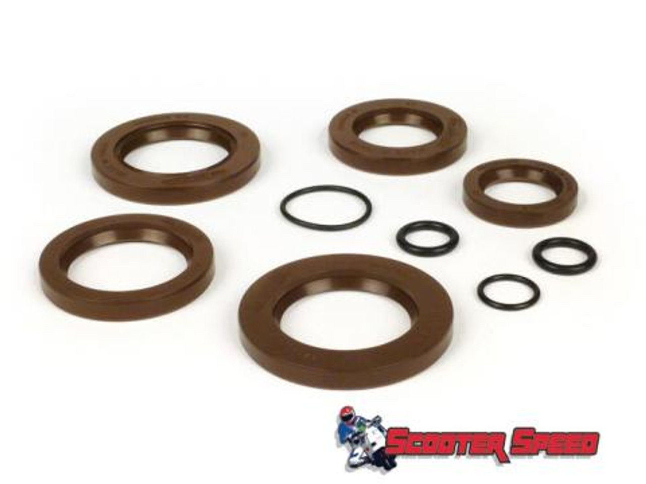 Lambretta Engine Oil Seal Set Viton Performance Casa Pro (L7C-7676762)