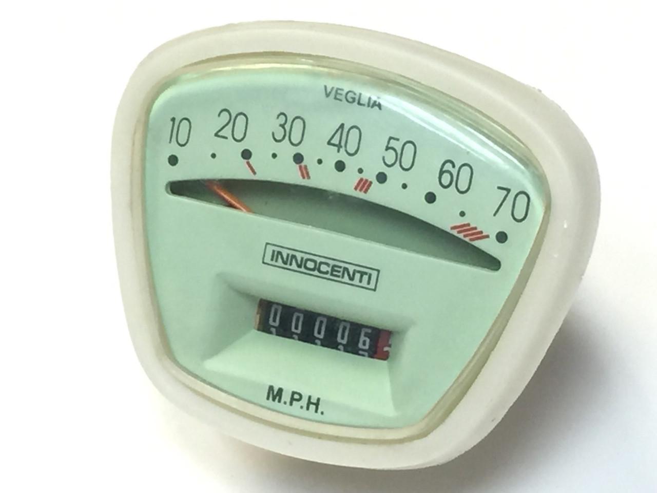 Lambretta Speedometer Complete S3 70mph Casa (DC-8009634)