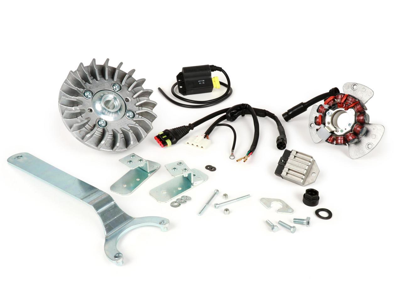 Lambretta Ignition Kit AC Sport Ducati CasaTronic Casa Pro - 2.2kg GP (DW-CLX903)