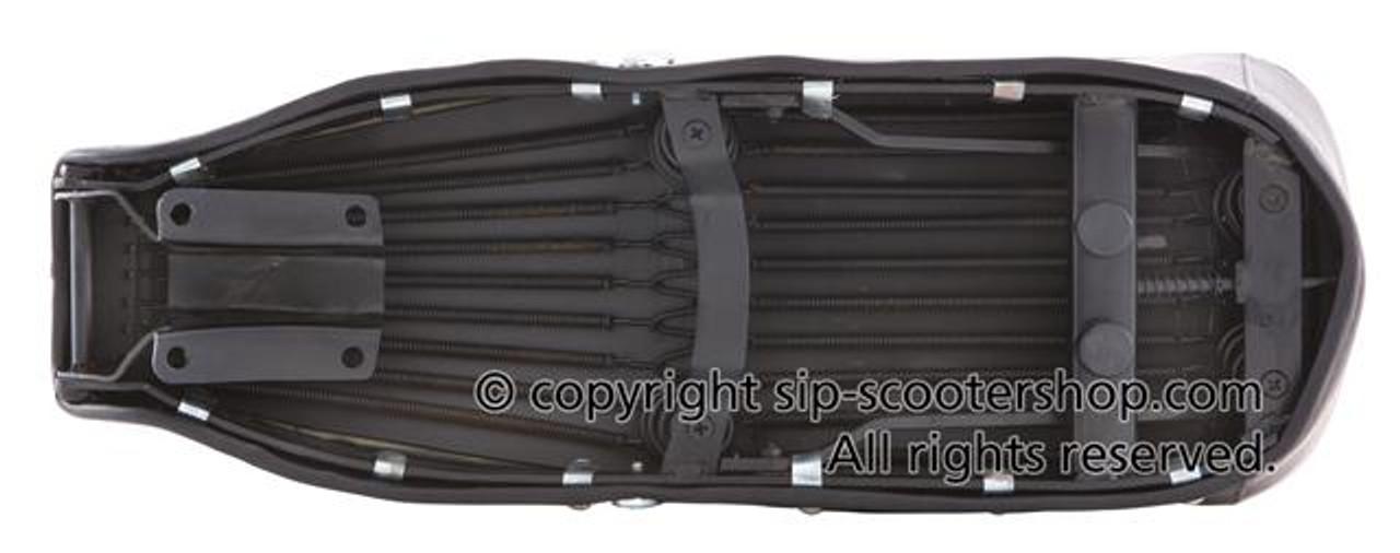 Lambretta HQ Dual Bench Seat SX/LI - Black (SW-L109577)