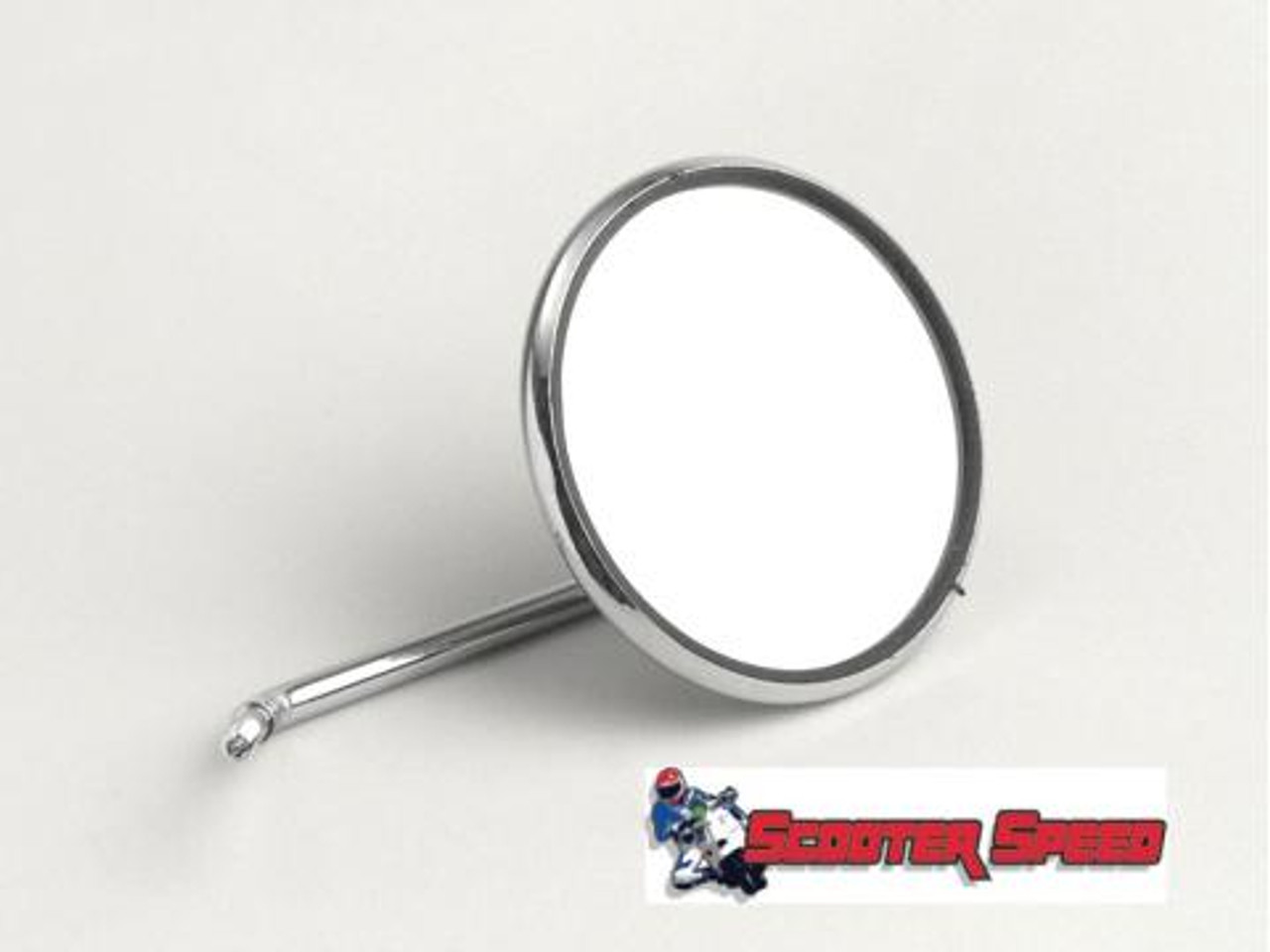 Universal Cuppini Legshield Mirror Round - Left/Right (G117-61011000)