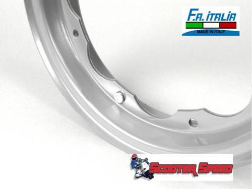 Lambretta Wheel Split Rim 3.50/10 FA ITALIA - Silver (L0-80140000)