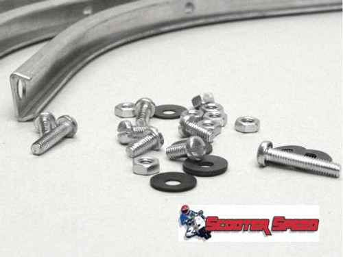 Lambretta Floorboard Alloy Strip Set Casa S3 (70-C298/8013400)