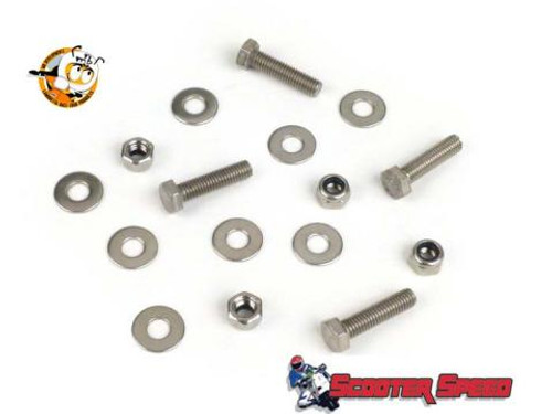 Lambretta Center Stand Hardware Kit MRB Series 1/2 (L0-45-7675835)