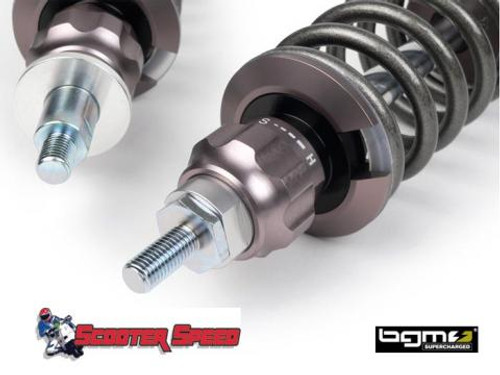 Vespa Shock Adsorber Set BGM PRO SC/R12 Silver/Ti - PE/PX/T5/Stella (G0-BGM7781KT)